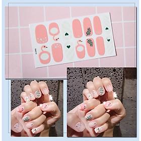 Set 3 Miếng dán trang trí móng tay nhiều kiểu đa dạng