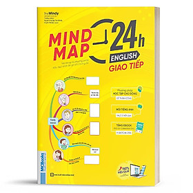 Sách - Mindmap 24h English - Giao Tiếp Tiếng Anh Bằng Sơ Đồ Tư Duy - Học Kèm App Online
