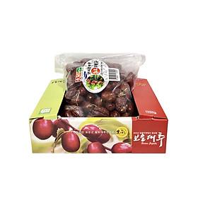 Táo chuẩn Hàn Quốc sấy khô hộp 1kg Mẫu Mới có zipper kéo.