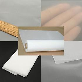 1pcs Nylon White Sheet 200 Mesh Water Oil Industrial Filter Cloth 1mx1m 40-Inch