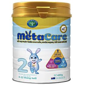 Sữa bột Nutricare Metacare 2 Mới - phát triển toàn diện cho trẻ 6-12 tháng tuổi (400g)