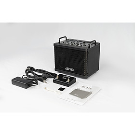 Joyo DC-15S Digital rechargeable Bluetooth guitar amp - Amplifier Guitar Joyo DC-15S Kèm Footswitch có Pin, Bluetooth