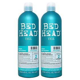 Bộ Dầu Gội Và Xả Phục Hồi Số 2 Bed Head Tigi Urban Antidotes Recovery 750ml - Hàng chính hãng