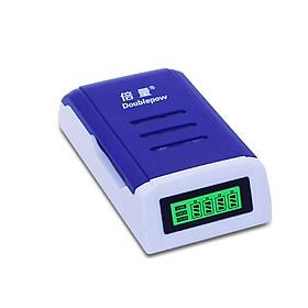 tự ngắt khi đầy Bộ Sạc Pin AA, AAA Tốc Độ Cao Hiển Thị Màn Hình LCD - K209 Doublepow