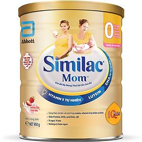 {Mẫu mới} Combo 3 Lon Sữa Bột Similac Mom Hương Sữa Chua Dâu (900g)
