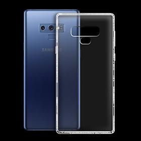 Ốp lưng cho Samsung Galaxy Note 9 - 01063 - Ốp dẻo trong - Hàng Chính Hãng