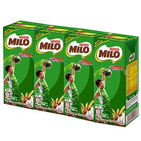 Sữa Nestle MILO Nước (4 Hộp x180ml)