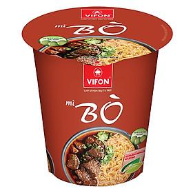 Mì ly Ngon Ngon bò 60g  - 00549