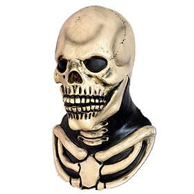 Skull Mask Skull Legion Headgear Horror Ghost Skull Evil Halloween Decoration Latex Haunted House Prop Decoration