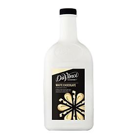 Sốt Socola Trắng / White Chocolate Sauce - DaVinci Gourmet (2L)