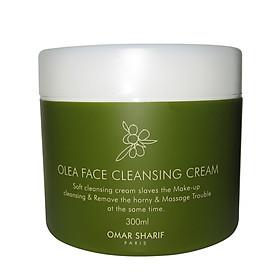 Omar Sharif - OLEA Face Cleansing Cream – 2 in1- Kem Massage Oxy Trắng Sáng Da & Tẩy Trang Sạch Sâu