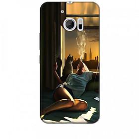 Ốp lưng dành cho điện thoại HTC 10 Cô Đơn Mình Em