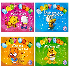 Bộ Sách Baby Book - Những Người Bạn Ngộ Nghĩnh (Bộ 4 Cuốn)