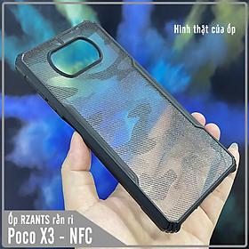 Ốp lưng cho Xiaomi Poco X3 NFC rằn ri trong