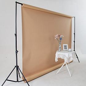 Khung giá treo phông nền chữ U chụp ảnh, quay video lookbook, ảnh cưới, livestream kích thước 2*2m, kèm Phông nền