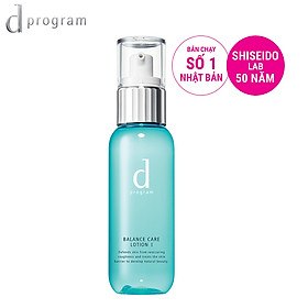 Nước cân bằng cho da dầu và da hỗn hợp dprogram balance care lotion 125ml