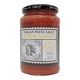 Sốt Mì Ý Cà Chua Và Phô Mai Cucina Formaggio Hũ 475g