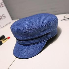 Mũ nón nồi, beret nữ thời trang phong cách ÂU/MỸ - hải quân