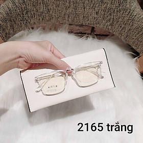 Gọng kính cận vuông nhựa dẻo cho cả nam và nữ 2165 - Tiệm kính Candy