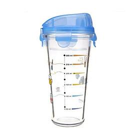 Ly Thủy Tinh Có Nắp Nhựa Glasslock PC318 (450ml) - Giao Màu Ngẫu Nhiên
