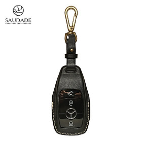 Bao da chìa khóa Mercedes Benz da Vachetta