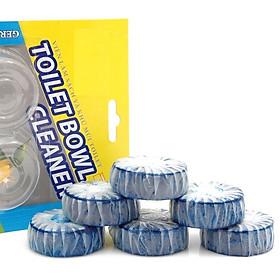 Vỉ 6 viên tẩy toilet tự động và làm thơm toilet