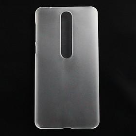 Ốp lưng nhựa cứng cho Nokia 6.1, Nokia 6 2018 trong nhám