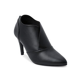 Giày Boot Nữ Cổ Thấp Rosata RO35 - Đen