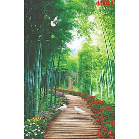 Tranh Dán Tường 3D Phong Cảnh - Có Sẵn Keo - TPCA279