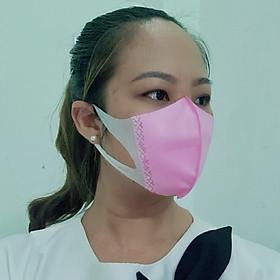 Khẩu Trang Kháng Khuẩn 3D EXPER hộp 50 cái. Sản phẩm khẩu trang 3D cao cấp tai vải công nghệ Nhật giúp đeo êm ái và không đau tai nhiều màu