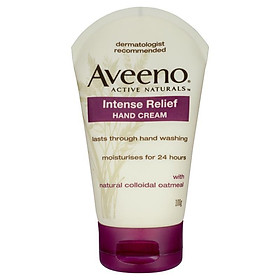 Aveeno Active Naturals Intense Relief Hand Cream Fragrance Free 100g