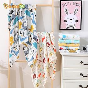 Khăn tắm cho bé từ sợi tre thiên nhiên Bamboo Life BL054 Khăn tắm cho trẻ sơ sinh mềm mại kháng khuẩn an toàn cho làn da bé