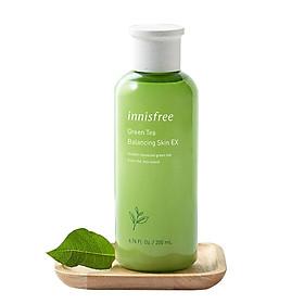 Nước Cân Bằng Dưỡng Ẩm Từ Trà Xanh Đảo Jeju Innisfree Green Tea Balancing Skin EX 200ml