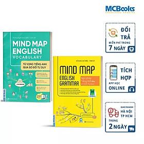 Combo Mindmap English Grammar và Mindmap English Vocabulary - Học Kèm App Online