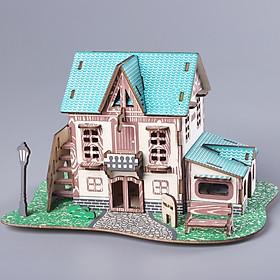 Đồ chơi lắp ráp gỗ 3D Mô hình Nhà gỗ Starry Sky
