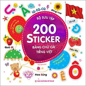 Bộ Sưu Tập 200 Sticker - Bảng Chữ Cái Tiếng Việt