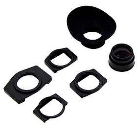 Viewfinder 1.08-1.62X Zoom Magnifier Eyepiece Adjustable Eyecup Magnifying For Canon Nikon Olympus Pentax Sony Fujifilm Samsung Minolta