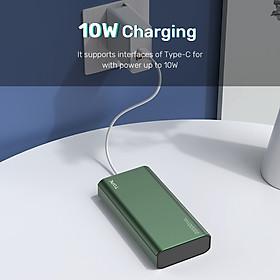 Sạc Dự Phòng Vỏ Kim Loại TOPK I2006 20000 MAh Sạc Dự Phòng Chính Hãng Cho Xiaomi Samsuang Samsung HUAWEI Oppo iPhone - Hàng chính hãng