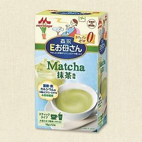 Sữa bầu Morinaga vị Matcha Nhật - Tặng túi zip 5 kẹo mật ong Senjaku