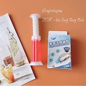 Tẩy bồn cầu️SALE️Gel thơm khử trùng khử mùi diệt khuẩn toilet tiện dụng với 5 mùi hương dễ chịu QC300