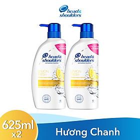 Combo 2 Dầu Gội Head & Shoulders Hương Chanh Sảng Khoái (625ml x 2)