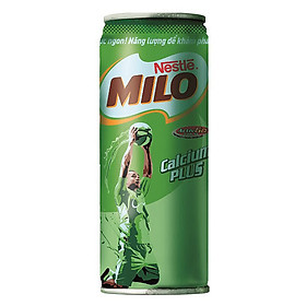 Lốc 6 Lon Sữa Nestle Milo Nước (240ml / Lon)