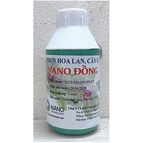 Xịt Phun Hoa Lan Cây Cảnh Nano Đồng 100ml trị Nấm, Vi Khuẩn, hạn chế Thối, Rụng Lá