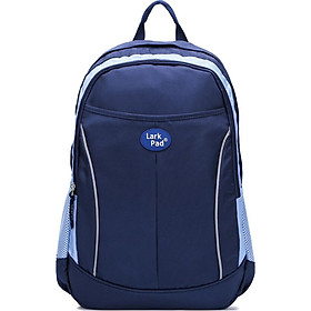 Larkpad Leke children's school bag men and women schoolbags 4-6 grade middle school students backpack burden shoulder bag Duke blue