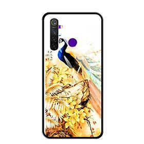 Ốp lưng kính cường lực cho điện thoại Realme 5 Pro - 0253 KHONGTUOC - Hàng Chính Hãng