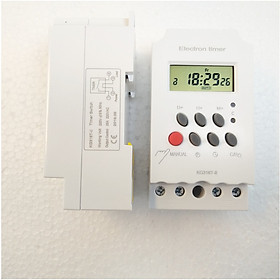 Timer hẹn giờ bật tắt điện tự động KG316T-II/25A/220V