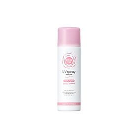 Xịt Giữ Lớp Trang Điểm Shigaisen Yohou Make Keep Uv Spray SPF 50 PA ++++ (60g)