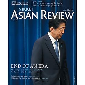[Download Sách] Nikkei Asian Review: End of an Era - 35.20, tạp chí kinh tế nước ngoài, nhập khẩu từ Singapore