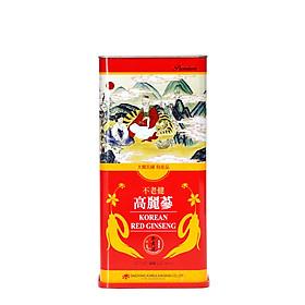 Hồng sâm củ khô Hàn Quốc Daedong Korea Ginseng 600g dòng Premium (21 -40 củ) - Tăng cường trí nhớ, hỗ trợ giảm mỡ máu, phòng ngừa tiểu đường, huyết áp