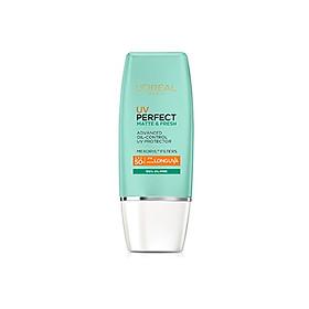 LOREAL UV PERFECT MATTE & FRESH ADVANCED OIL-CONTROL UV PROTECTOR SPF50 PA+++ 30ML